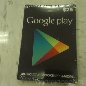 google play cards 300x300 Filtradas las tarjetas de regalo para Google Play