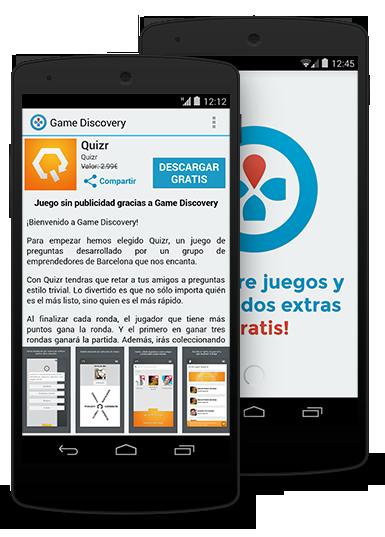 Game Discovery, App Gratis de Juegos