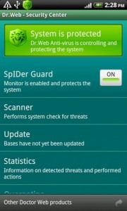 Dr web antivirus android