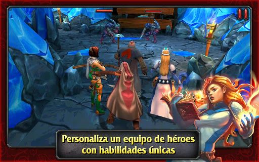 Heroes of Destiny para Android 2