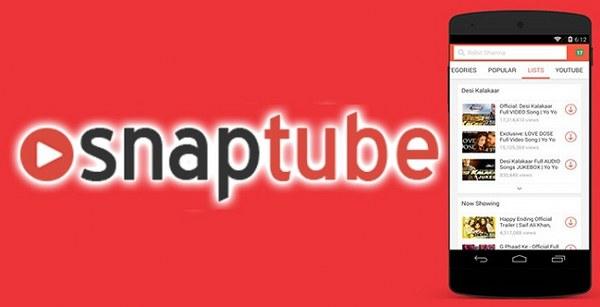 Estas son todas las características de SnapTube 2