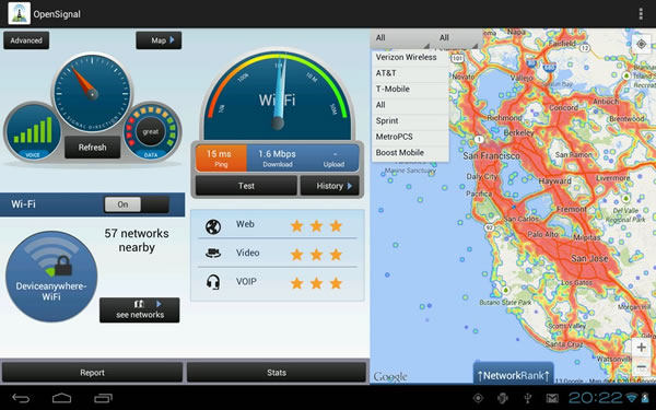 Mapas 3G 4G LTE WiFi velocidad   Aplicaciones Android en Google Play