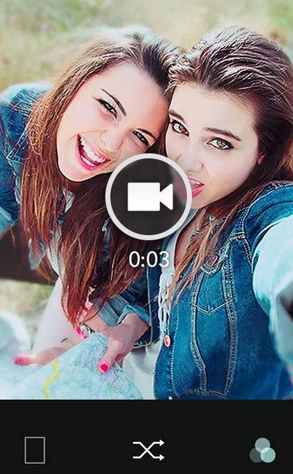 B612 crear selfies